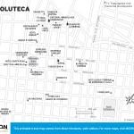 Travel map of Choluteca, Honduras