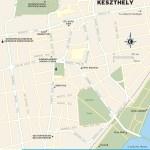 Travel map of Keszthely, Hungary