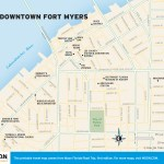 Travel map of Downtown Fort Myers, Florida