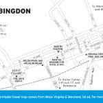 Map of Abingdon, Virginia