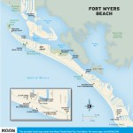 Travel map of Fort Myers Beach, Florida