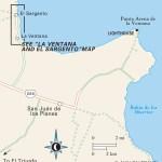 Map of Bahía de la Ventana, Mexico