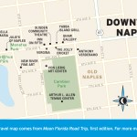 Travel map of Downtown Naples, Florida