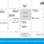 Travel map of Juticalpa, Honduras