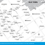 Map of Old Town Key West, Florida in detail