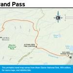 Travel map of Firebrand Pass