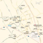 Travel map of Las Cruces, New Mexico