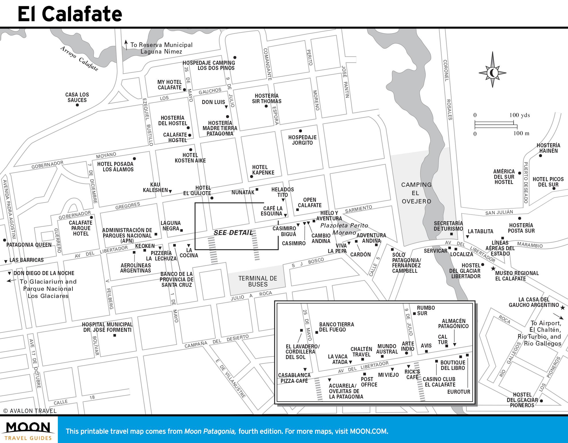 Maps - Patagonia 4e - El Calafate, Argentina