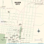 Travel map of Silver City, New Mexico