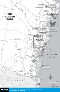 Map of Golden Isles