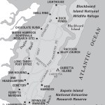Map of Sapelo Island