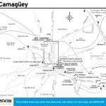 Travel map of Camagüey, Cuba