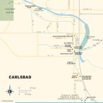 Travel map of Carlsbad, New Mexico