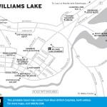 Map of Williams Lake, BC