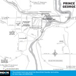 Map of Prince George, BC