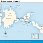 Map of The Solentiname Islands, Nicaragua