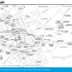 Travel map of Holguín, Cuba