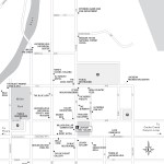 Travel map of Downtown Jackson, Wyoming