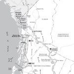 Map of the Alaska Highway