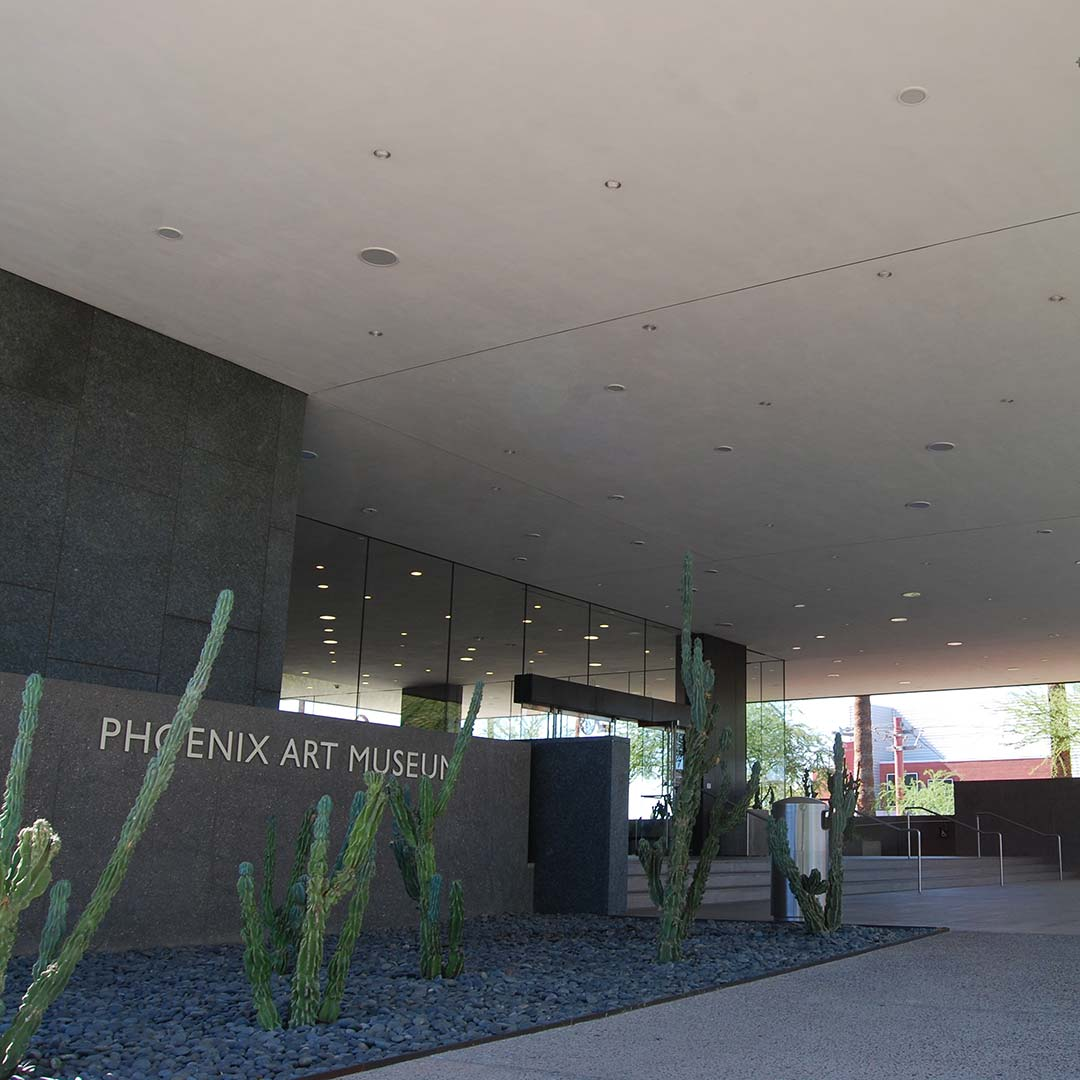 The Phoenix Art Museum. Photo © Tim Hull.