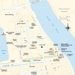 Travel map of Boeng Kak and Wat Phnom