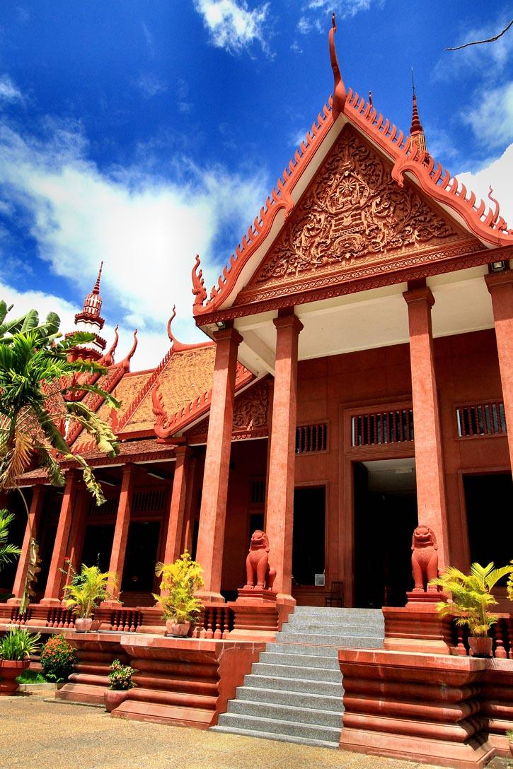 The National Museum of Cambodia in Phnom Penh, Cambodia.
