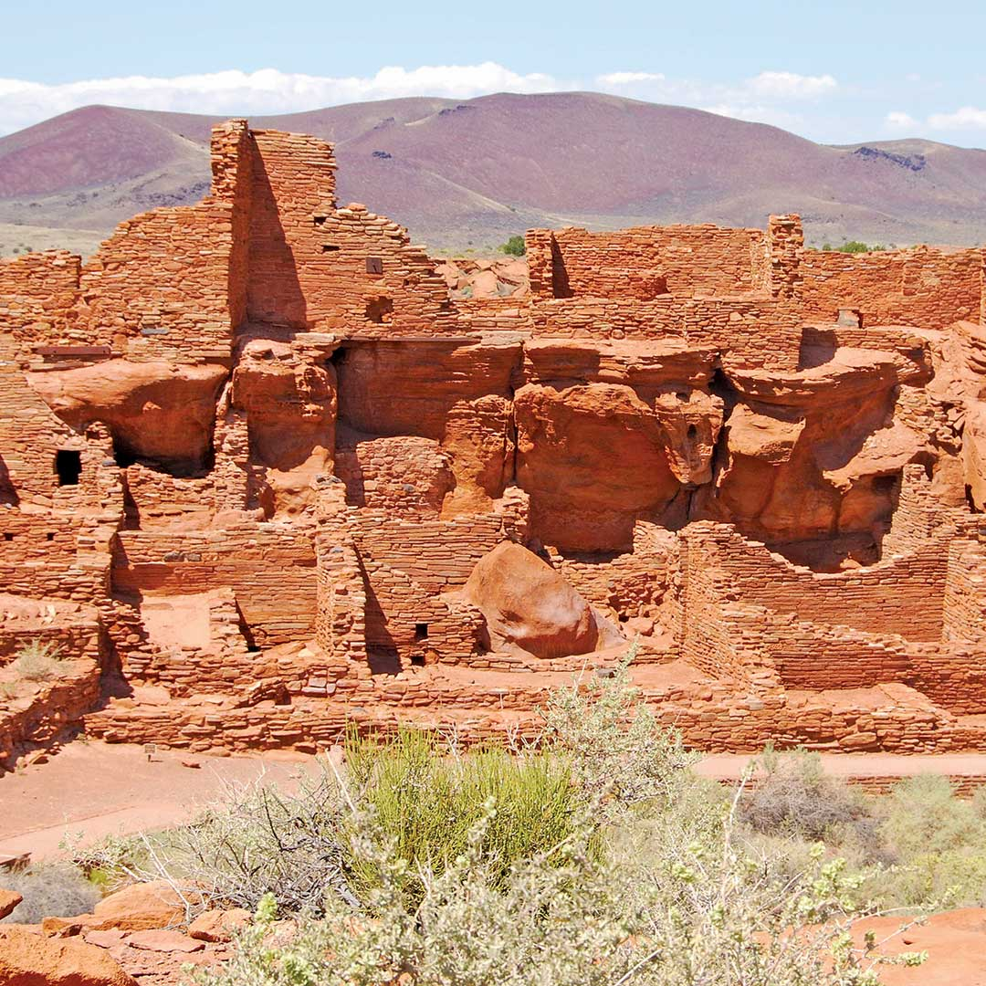 The Wupatki National Monument. Photo © Tim Hull.