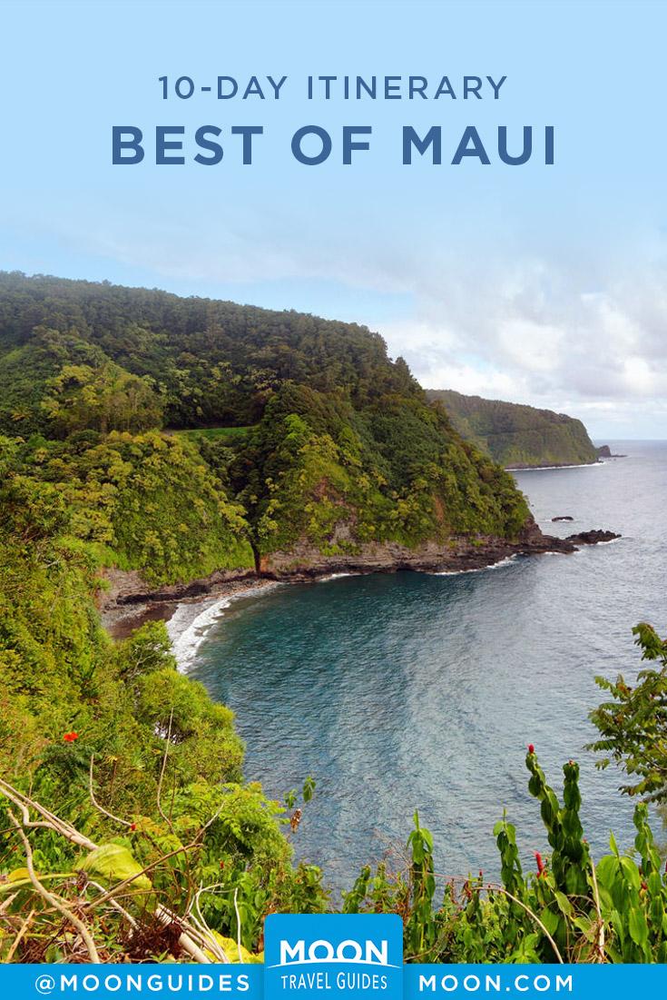 Best of Maui Pinterest graphic