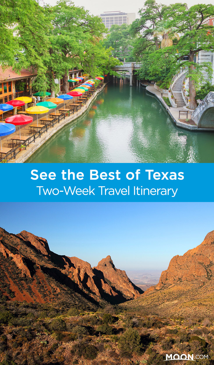 Since Texas is such an enormous state, many travelers opt to focus on a manageable region to maximize their time and resources. Stitch together these suggested itineraries to see the best of Texas in 2 weeks.