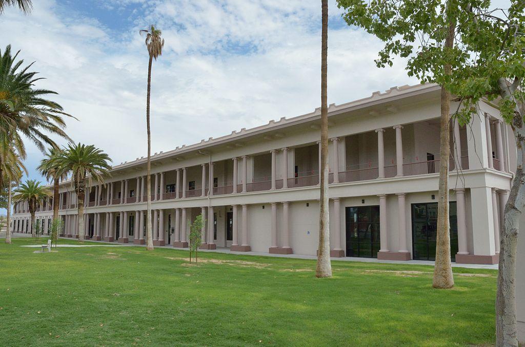 The El Garces Hotel in Needles, CA.