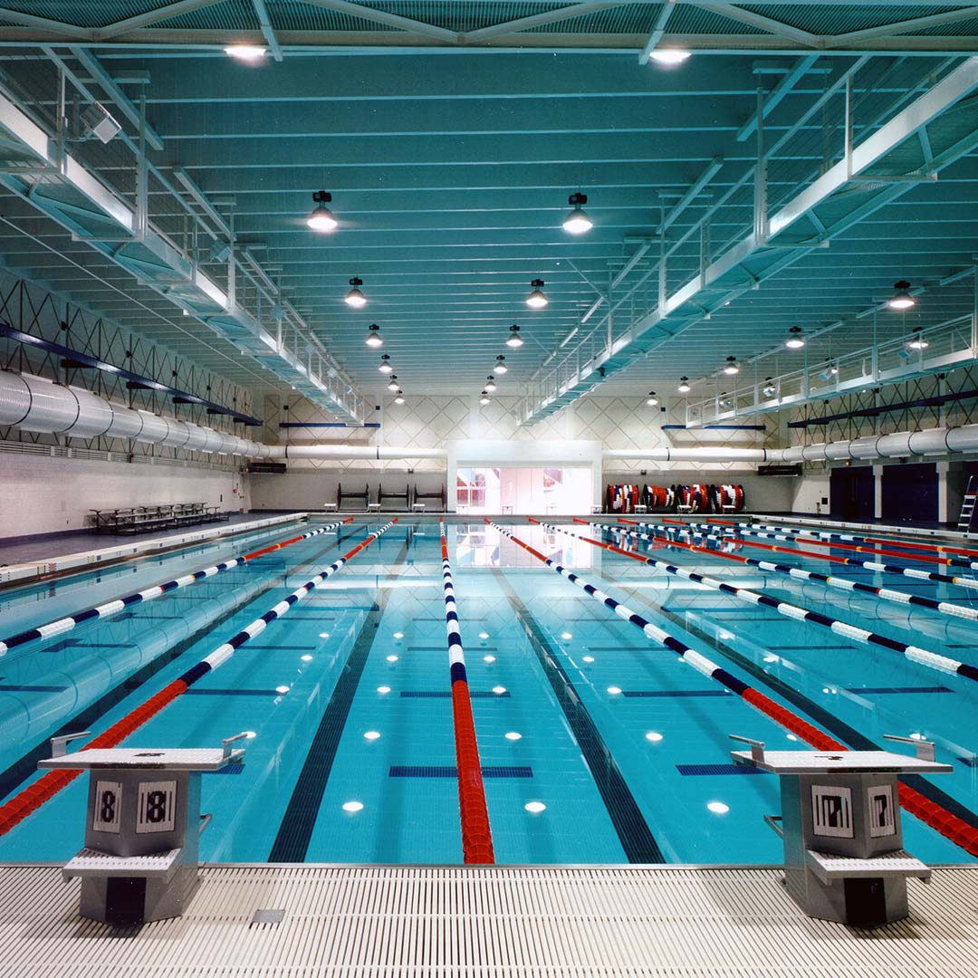 The pool at the Olympic Training Center.