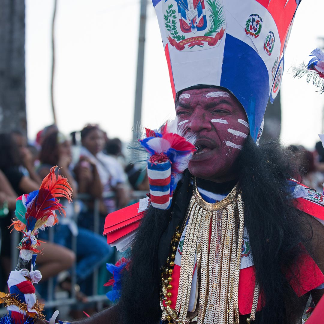 Los Indios represent the first people to inhabit the Dominican Republic. Photo © Lebawit Lily Girma.