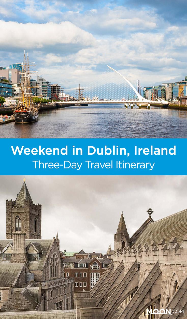 Dublin in 3 Days Pinterest graphic