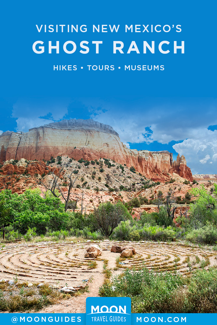 Visiting Ghost Ranch Pinterest graphic
