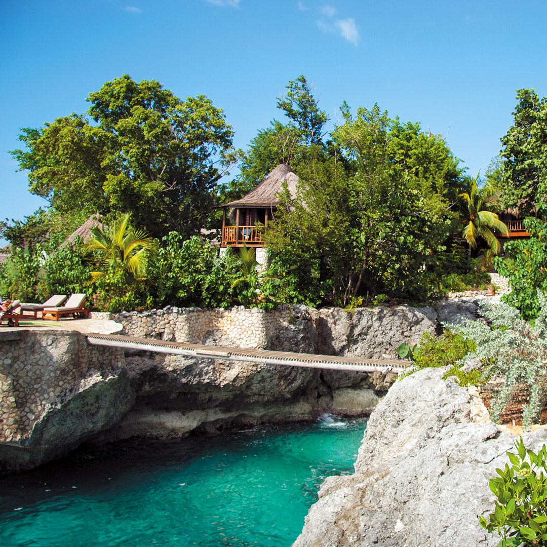 salt water pool at Tensing Pen in Jamaica