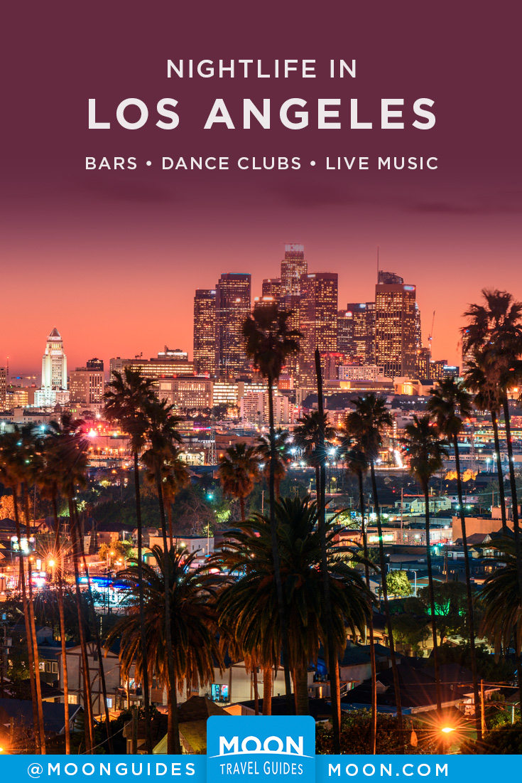 best bars in Los Angeles Pinterest graphic