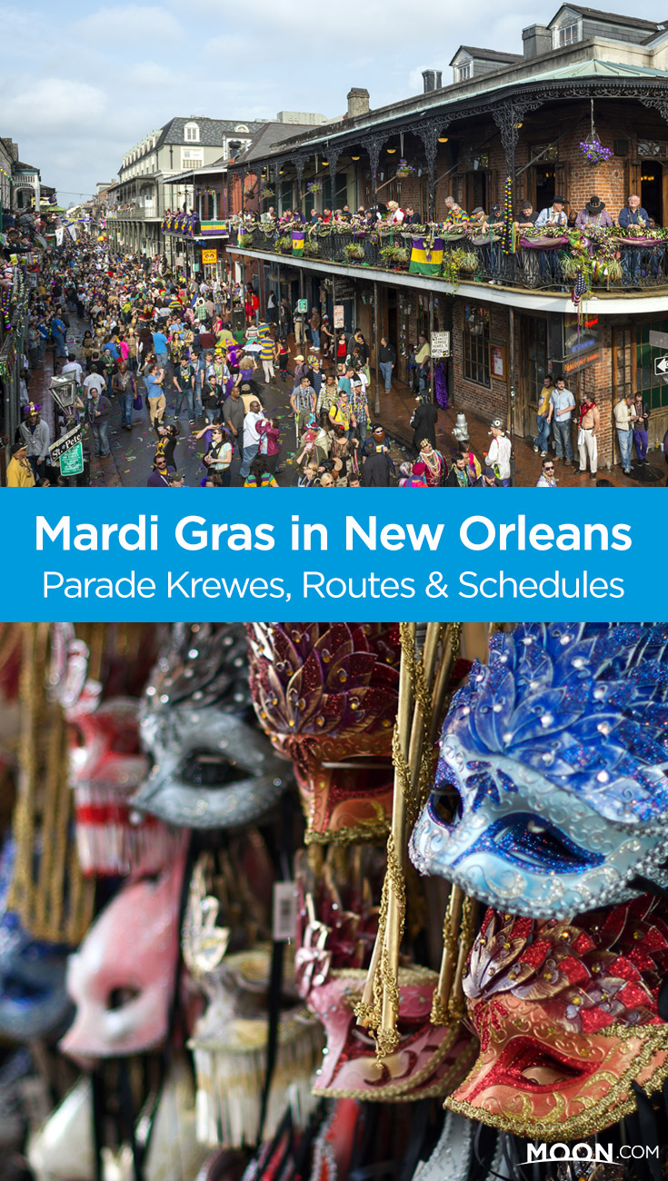 Enjoy the revelry of Mardi Gras in New Orleans this year with the help of this guide, which introduces beginners to the biggest krewes, their parade routes, and a helpful schedule of events.