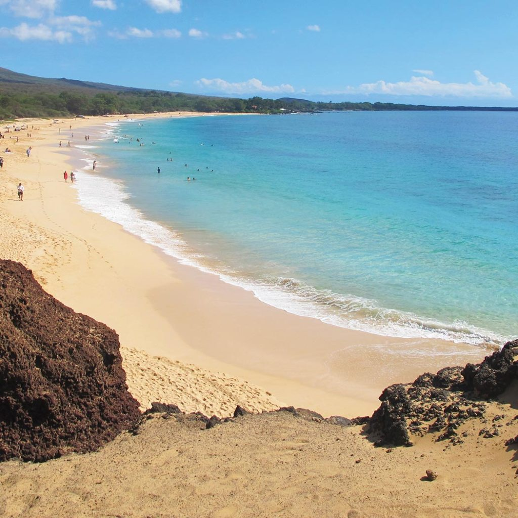 Big Beach at Makena State Park. Photo © Kyle Ellison.