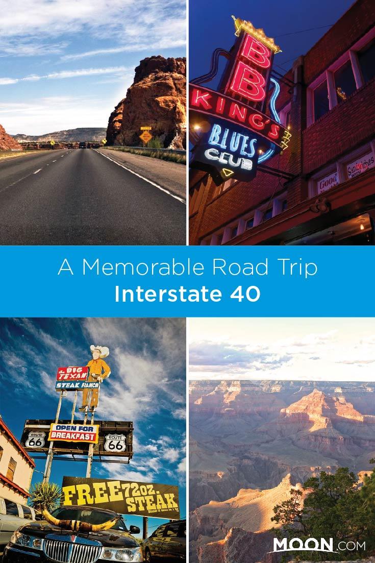 Interstate 40 road trip ideas