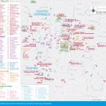 Travel map of Mexico City's Centro Historico