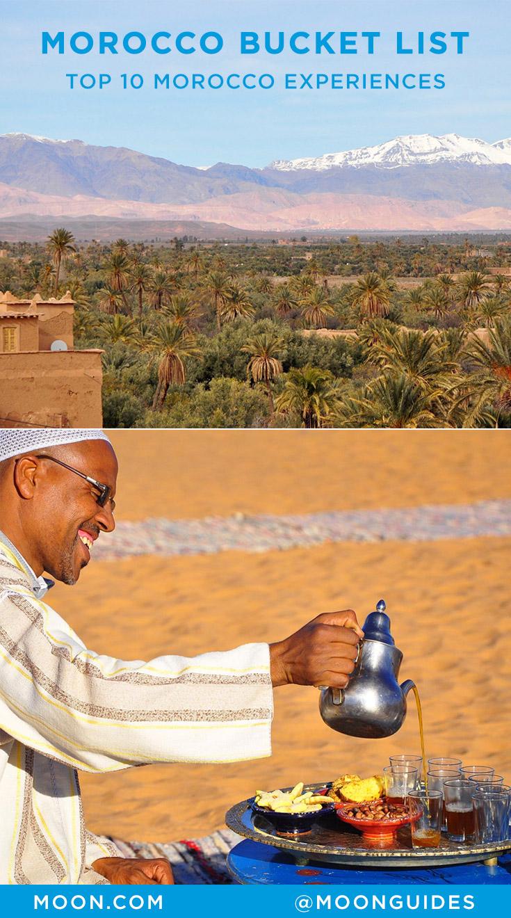 Top 10 Morocco Pinterest graphic