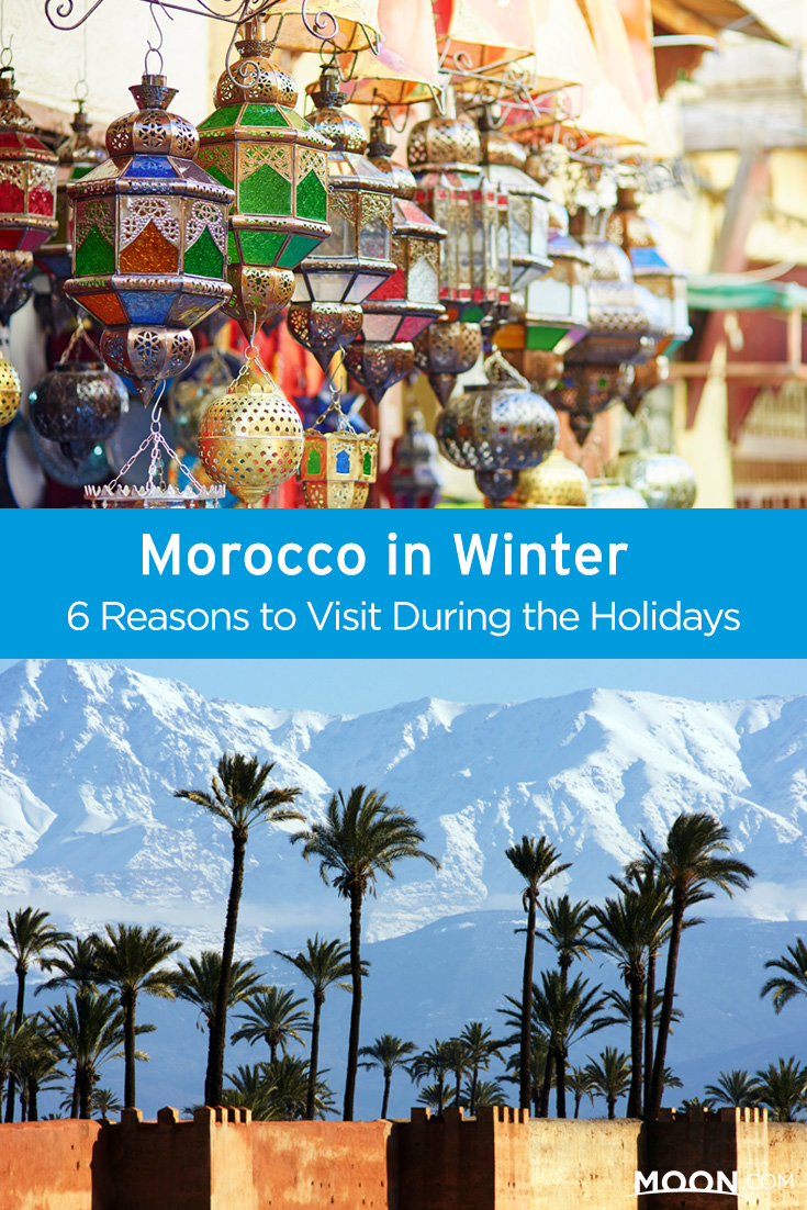 Looking to head out of town for a holiday vacation? There are probably a thousand reasons to travel to Morocco in the winter, but for the sake of time, here are six of the best.