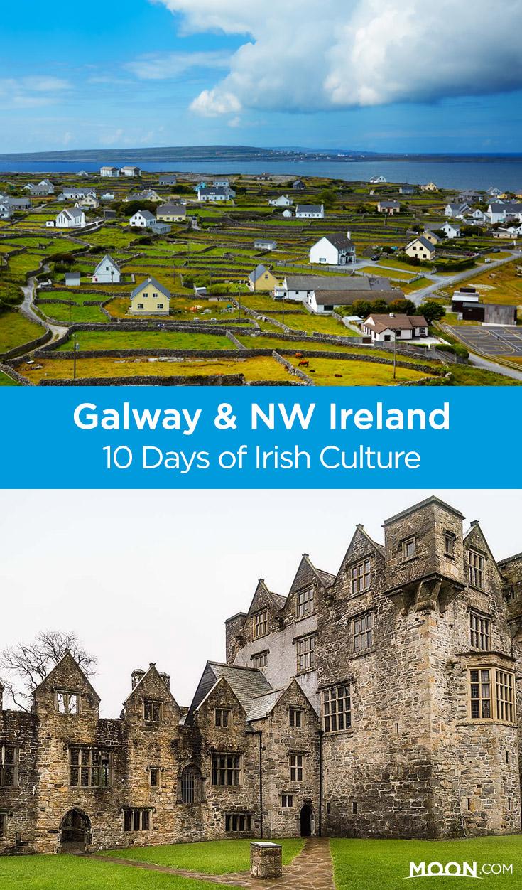 northwest ireland itinerary pinterest graphic