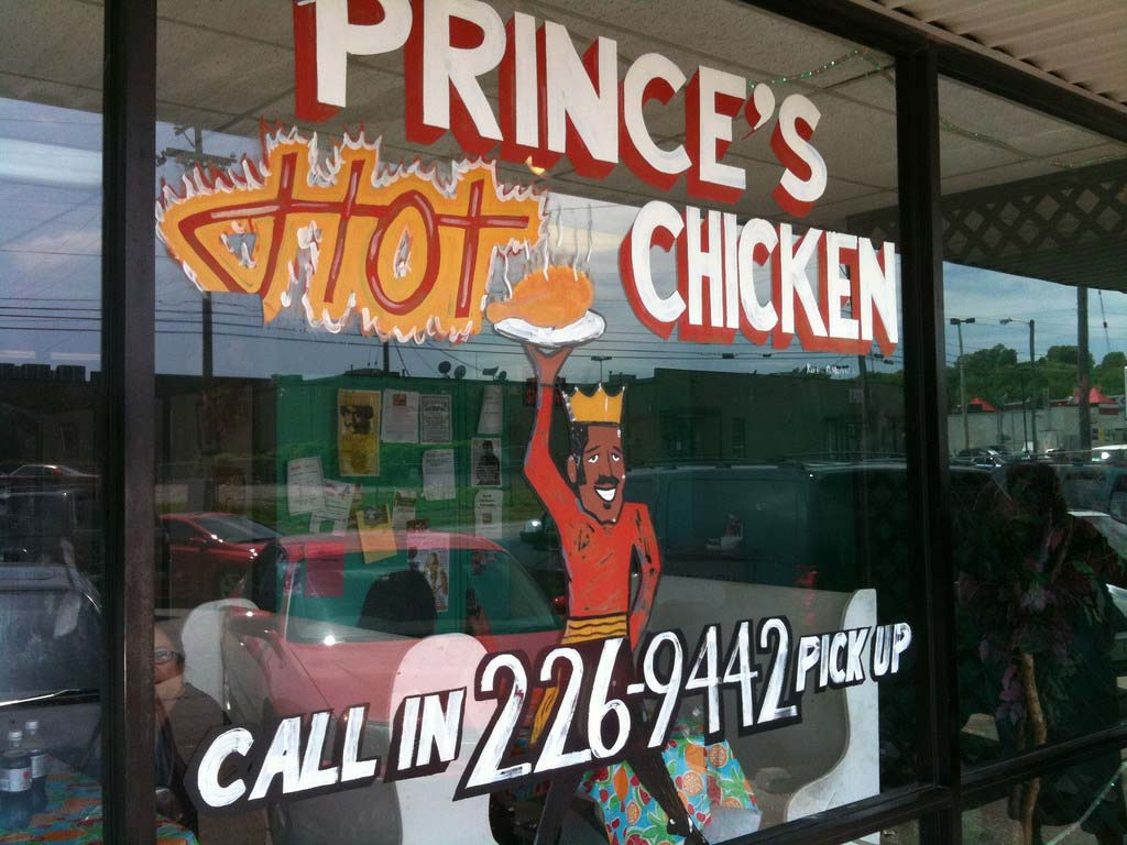 Prince's Hot Chicken Shack.