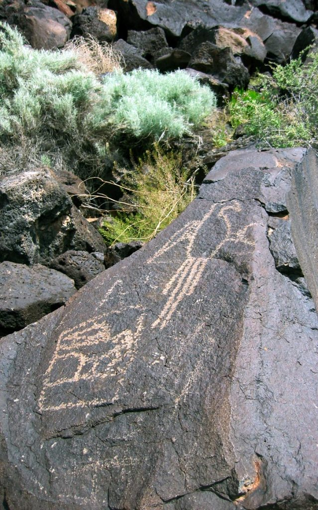 Petroglyph National Monument in New Mexico.
