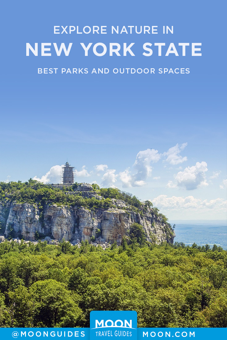 New York State Parks Pinterest graphic