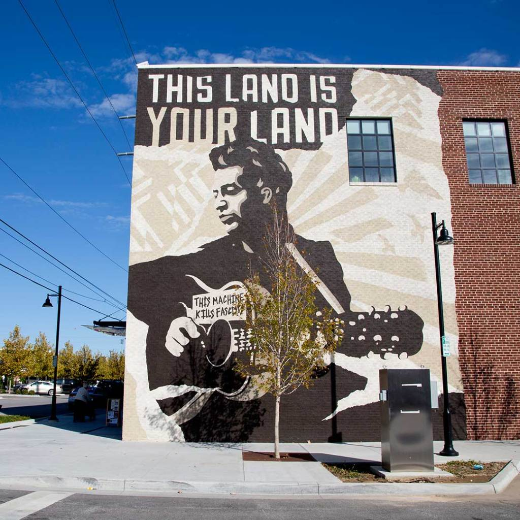The Woody Guthrie Center in Oklahoma. Photo © Candacy Taylor.