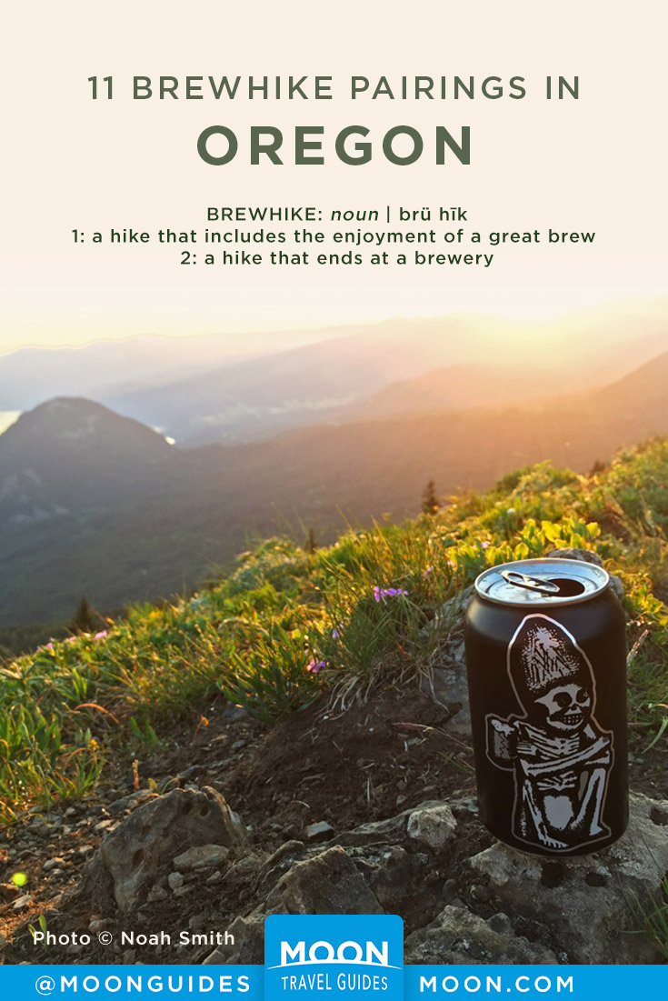 Oregon Brewery Hikes Pinterest graphic