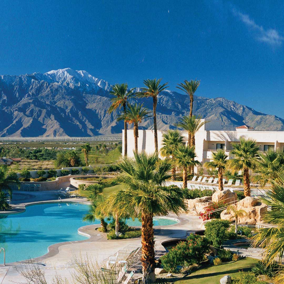 The Miracle Springs Resort & Spa. Photo courtesy of Miracle Springs.
