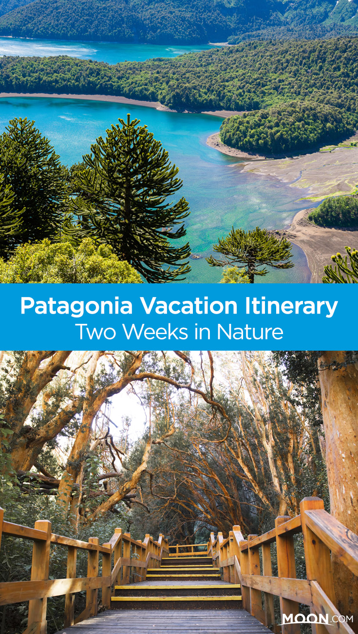 Spend two weeks in Chile and Argentina exploring Pacific coastline, Patagonian steppes, national parks, and the Andes mountains with this nature-inspired Patagonia vacation itinerary.